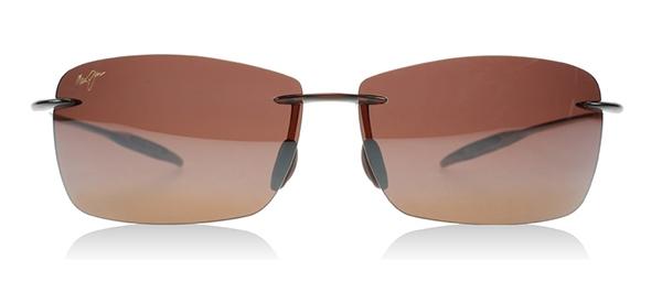 5f4f40340320 Maui Jim Lighthouse Polarized Sunglasses Rootbeer Frame