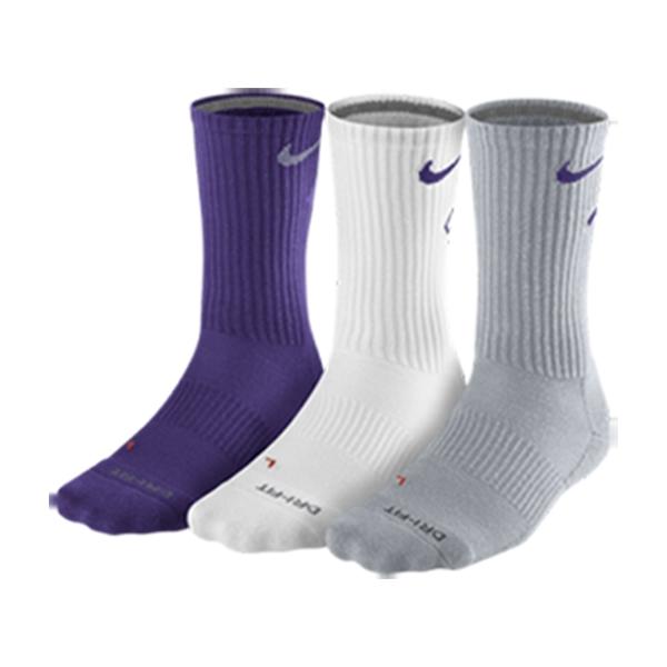 cc978fb7b Nike Men's Dri-FIT Fly Crew Socks 3-Pack
